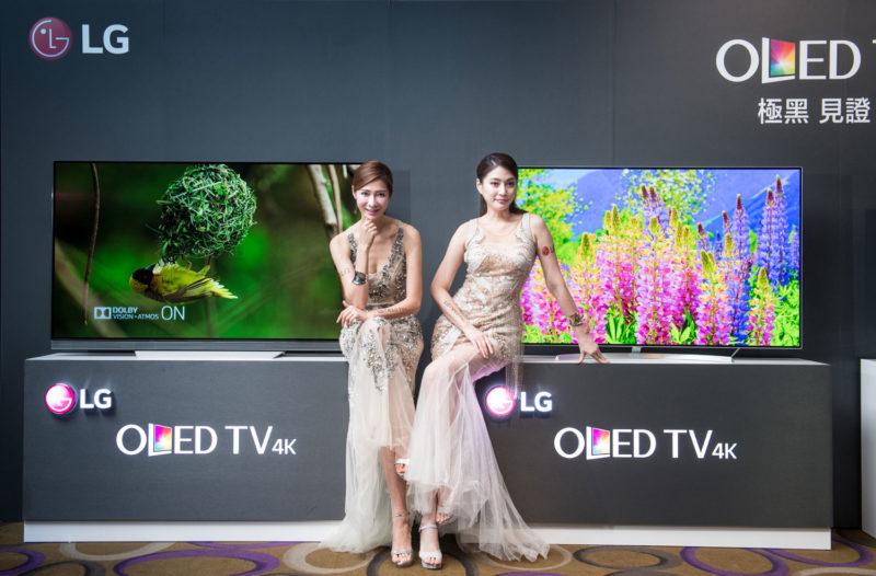 LG 2017 4K OLED TV情境照