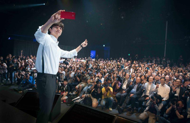 孔太太們瘋狂!亞太區代言人孔劉來台宣傳ASUS ZenFone 4系列