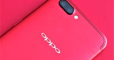 OPPO R11熱力紅開箱:跟這盛夏豔陽一起走跳