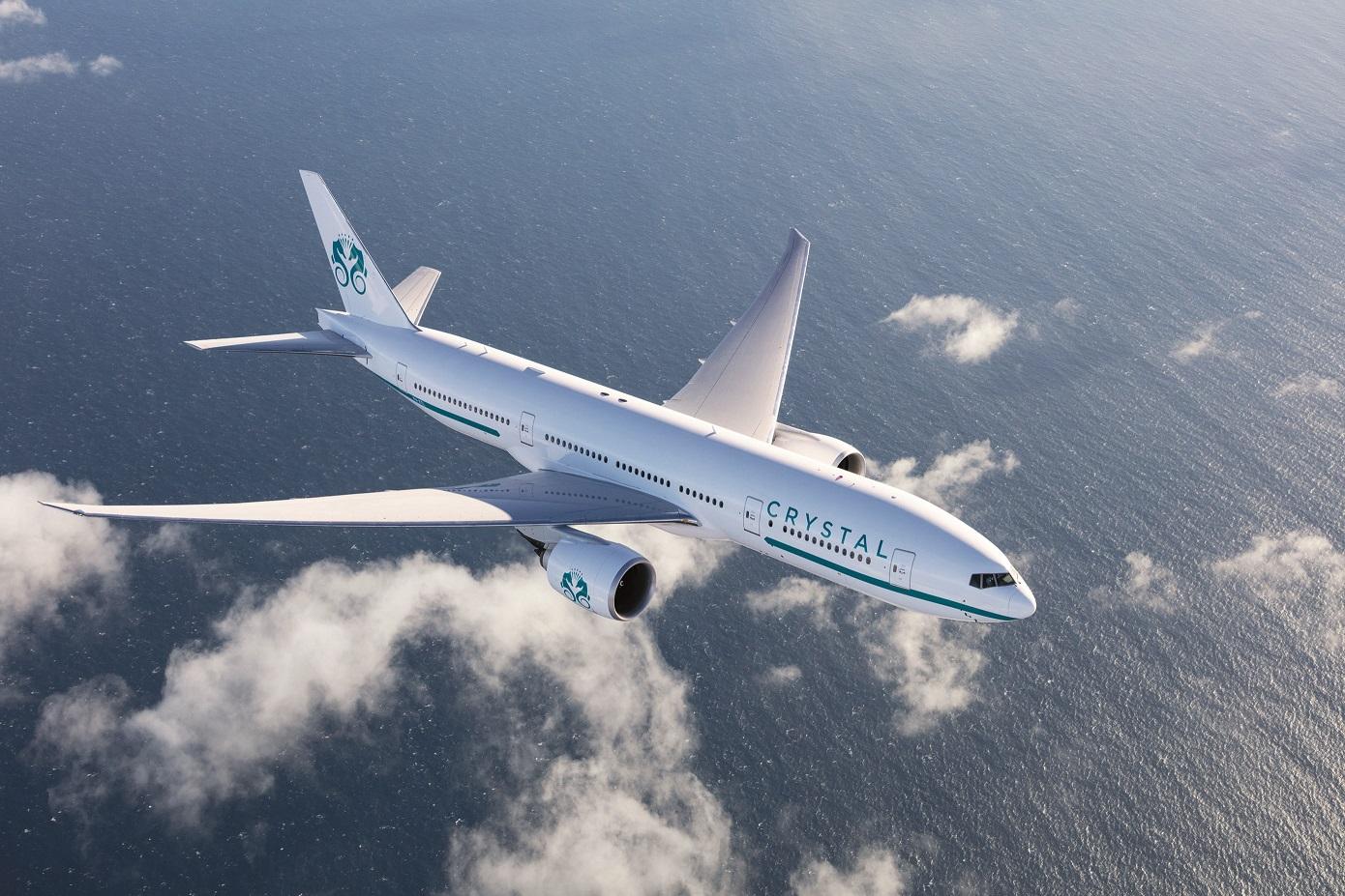 全球最大及最豪華寬敞之私人飛機──「水晶天際1號」全包式客製化行程即將啟航