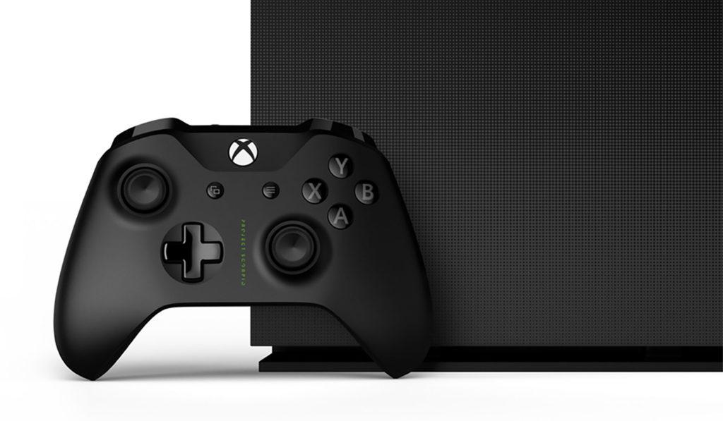 Xbox One X天蠍限量典藏組