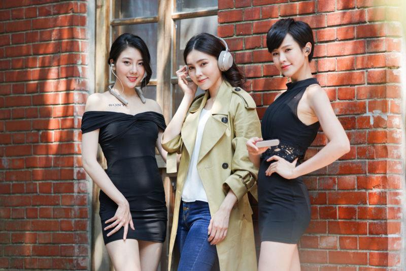 Sony 1000X系列降噪耳機情境照