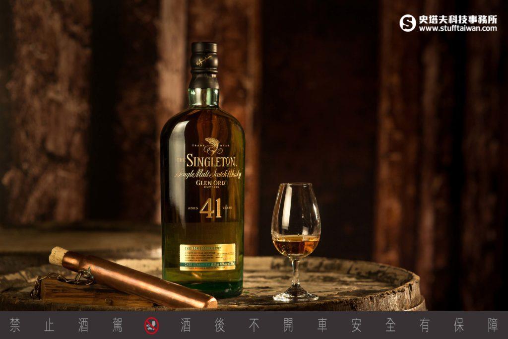 蘇格登最高年份41年單一麥芽威士忌