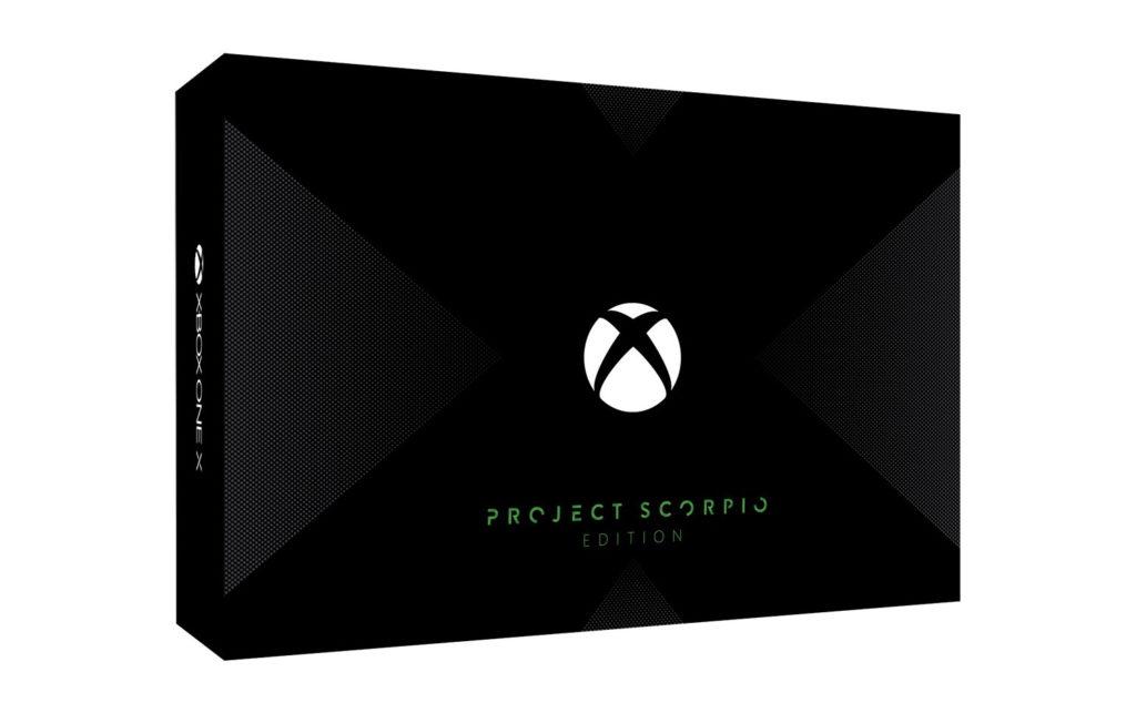 Xbox One X 1TB 天蠍限量典藏組