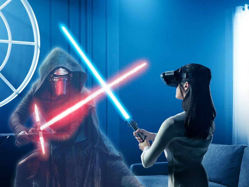 「Star Wars: Jedi Challenges」遊戲情境
