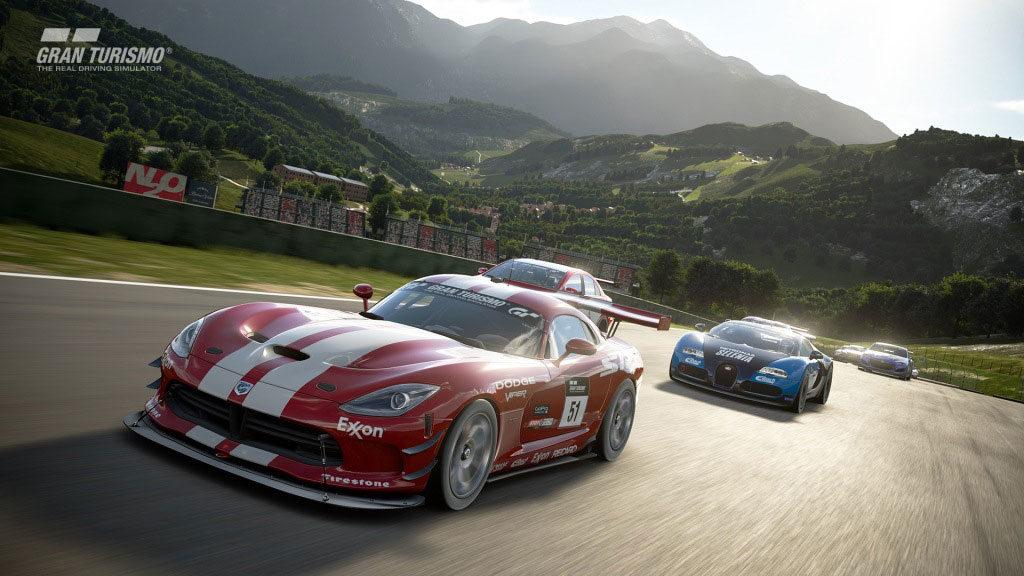 《Gran Turismo Sport》遊戲畫面