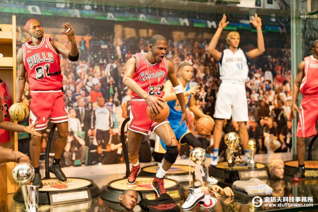 麥可.喬丹菜鳥版Michael Jordan Rookie Ver. 1/6玩具人偶