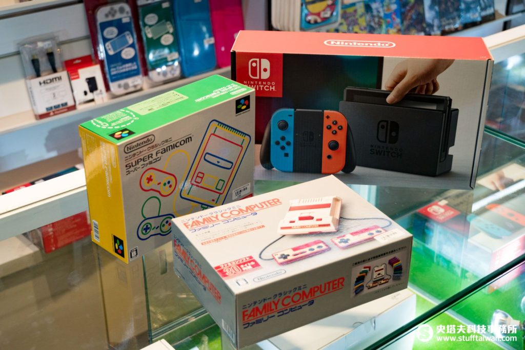 任天堂Switch、迷你超級任天堂、迷你任天堂紅白機