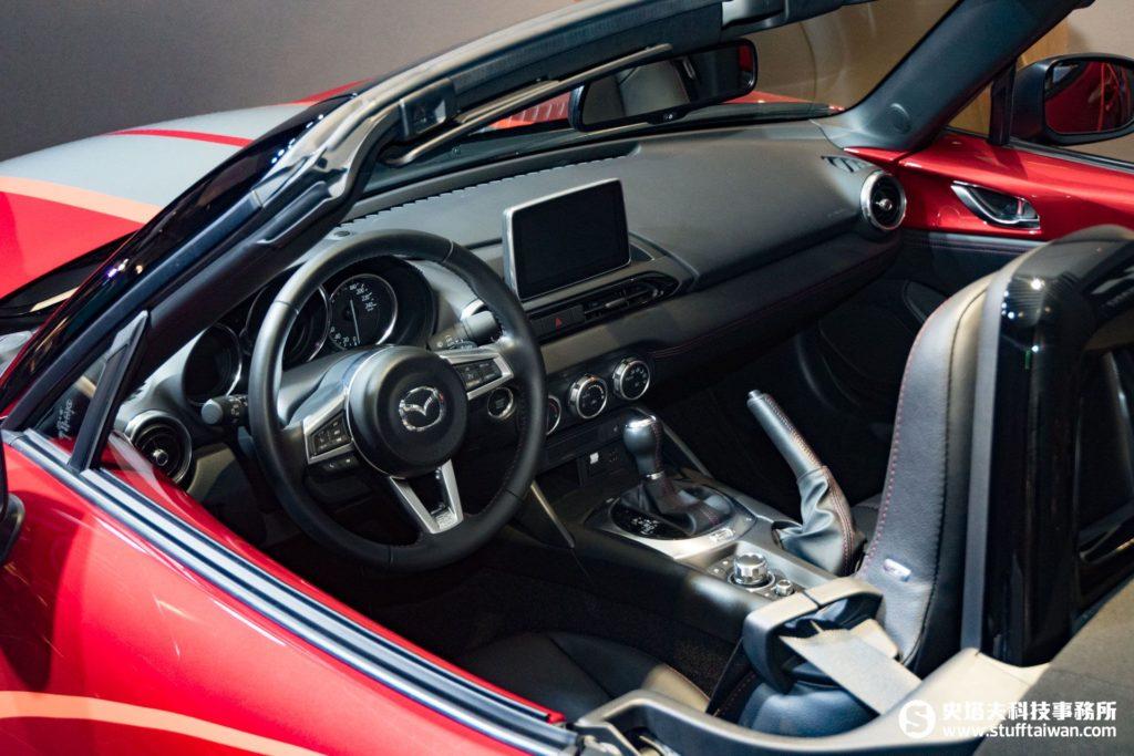 Mazda MX-5跑車內裝