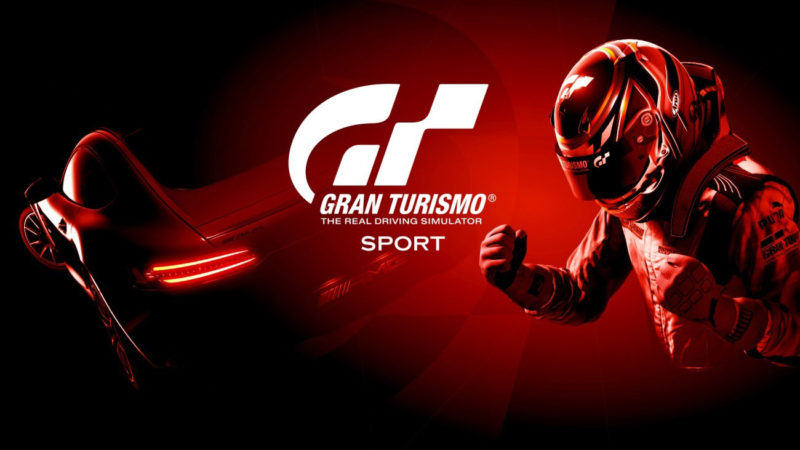 《Gran Turismo Sport》主視覺海報