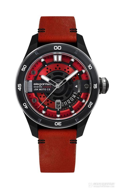 鐘錶重機跨界合作 elegantsis愛樂時JX65AS精品腕錶推出