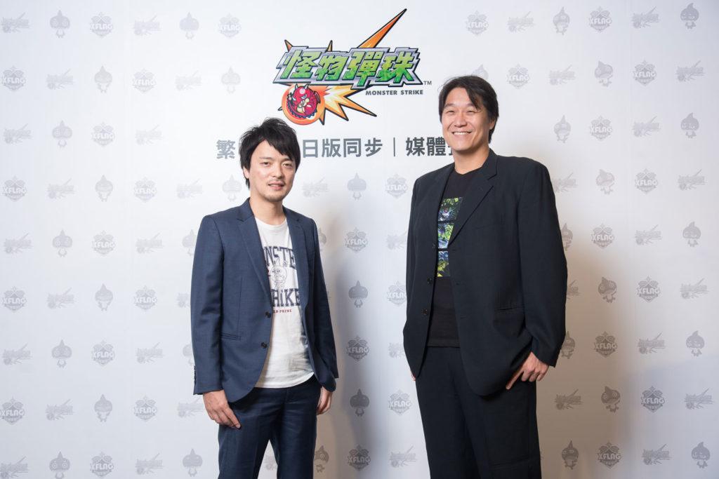 XFlag日本總監督多留幸佑(左)、海外戰略總監黃世元(右)