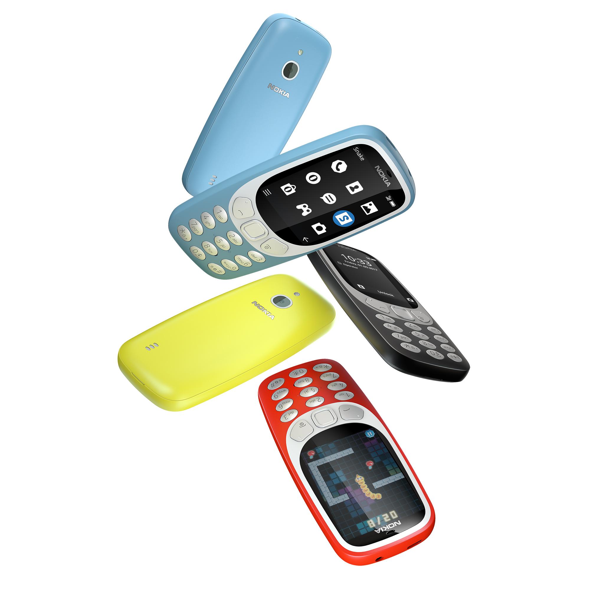 那些年偷帶手機去學校的經典機款!NOKIA 3310 3G版在台上市