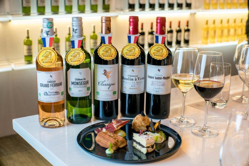 54屆金馬獎指定的五款法國翡馬葡萄酒