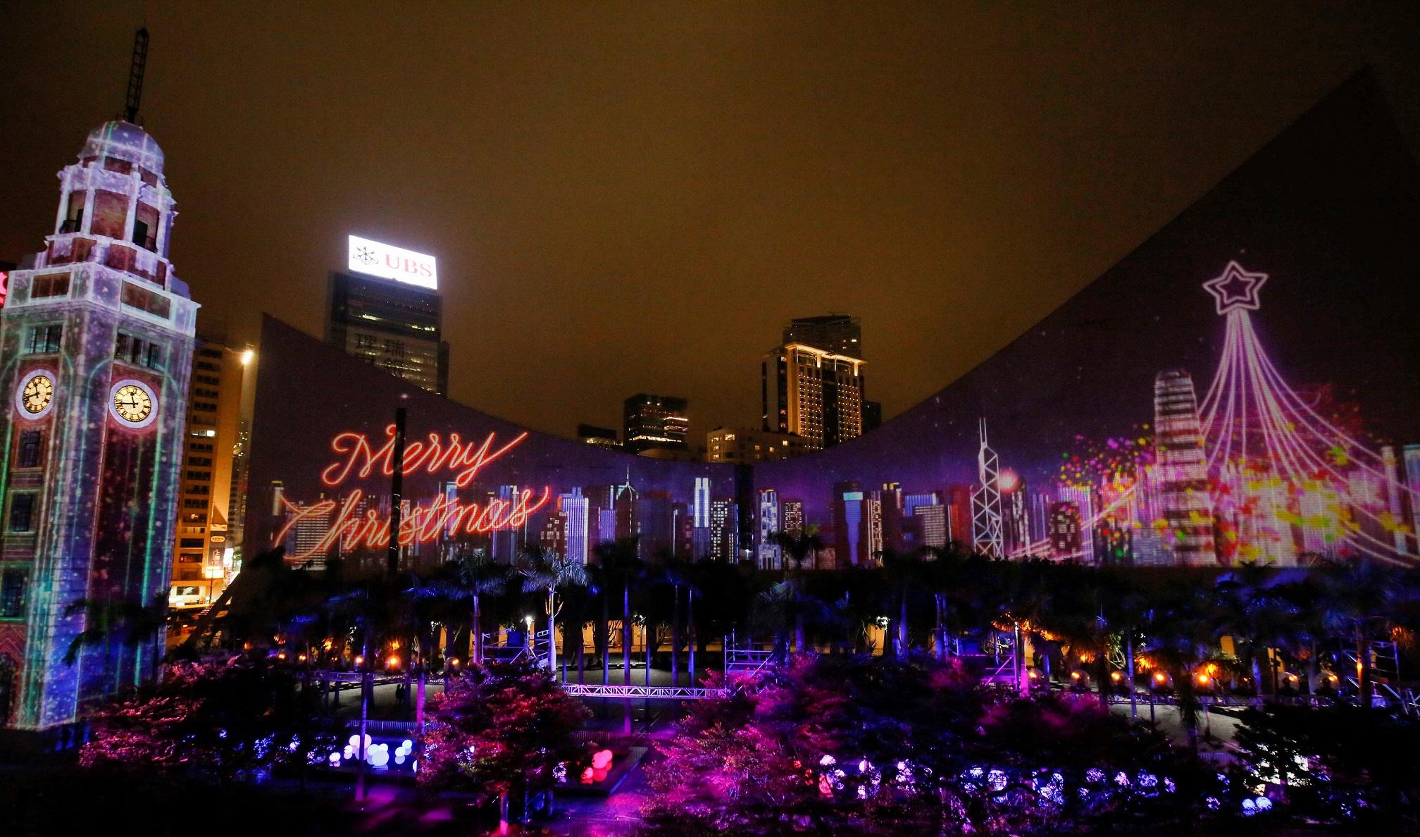 你沒看過的香港年度最大燈光盛宴於昨晚揭幕