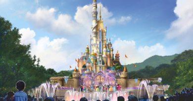 全球首座迪士尼城堡改造計畫明年正式開始