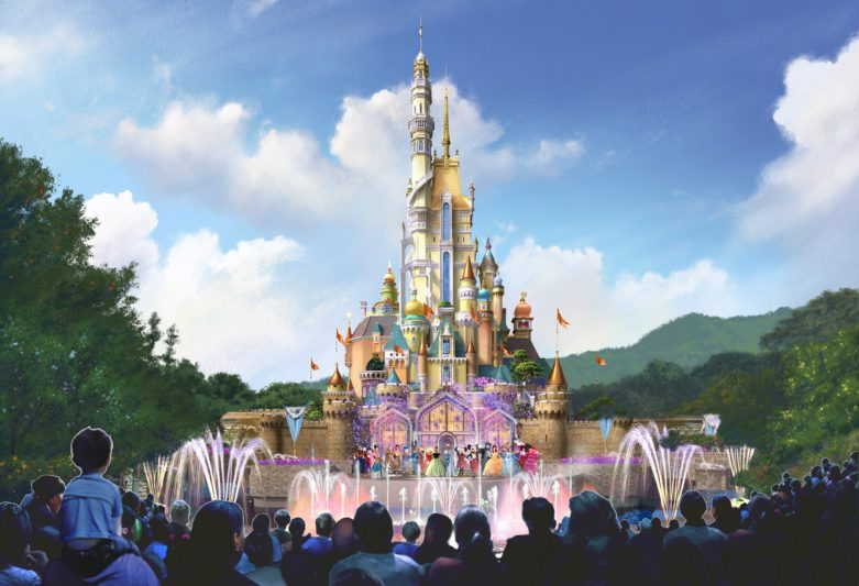全球首座迪士尼城堡改造計畫就在香港