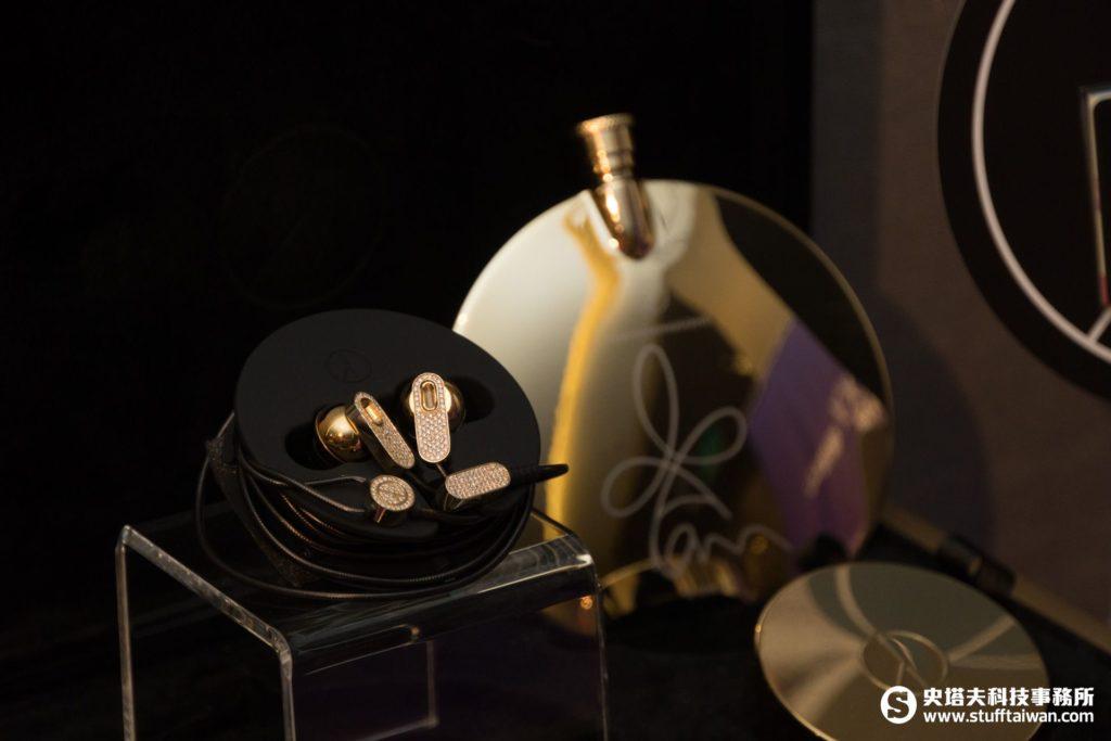 GD自創潮牌鑲鑽耳機PEACEMINUSONE-MUSIC x TAIWAN