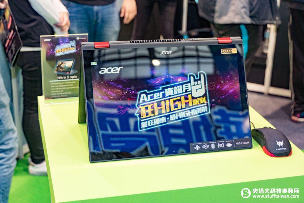 Acer Spin 5類電競筆電
