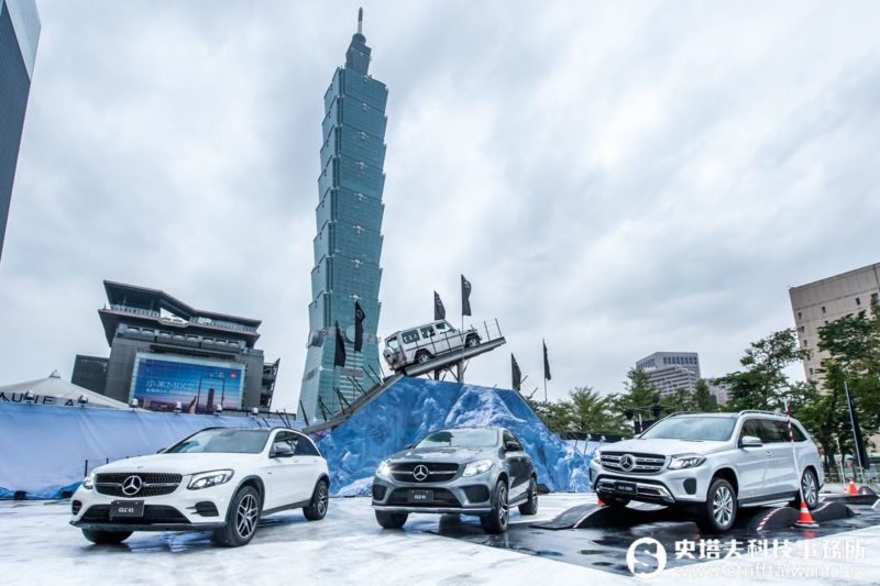 Mercedes-Benz越野王G-Class的頂尖對決!鋼鐵山再度登台