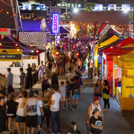 澳洲昆士蘭周末版的限定夜市景點