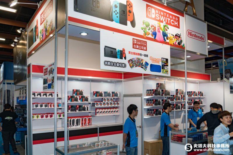 每日限量! 資訊月展場Nintendo Switch主機8880元