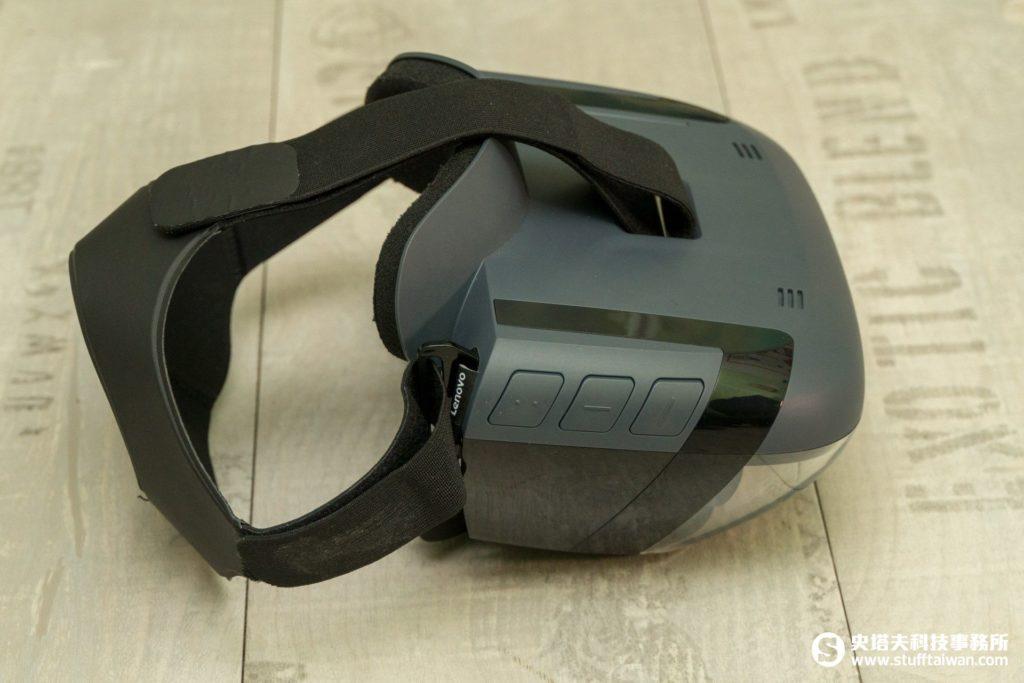 Lenovo Mirage AR頭戴顯示器右側