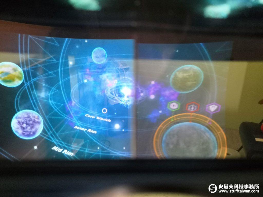 《星際大戰:絕地挑戰》頭盔顯示AR畫面