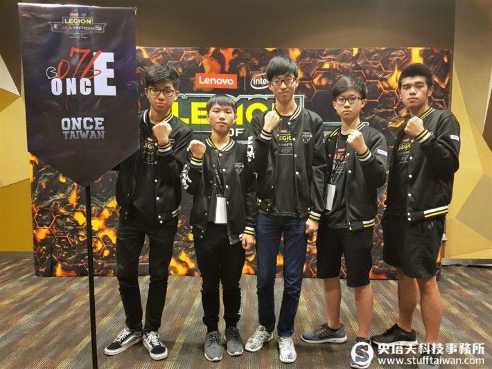 Lenovo Legion of Champions曼谷總決賽廝殺 台灣隊伍有信心拿冠軍