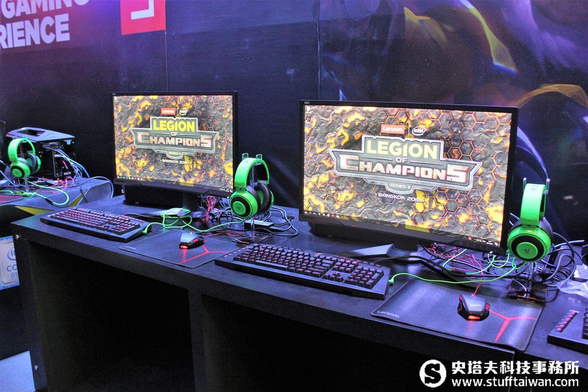 Lenovo LoC電競總決賽曼谷開戰 舉辦地點跟光華商場有點像
