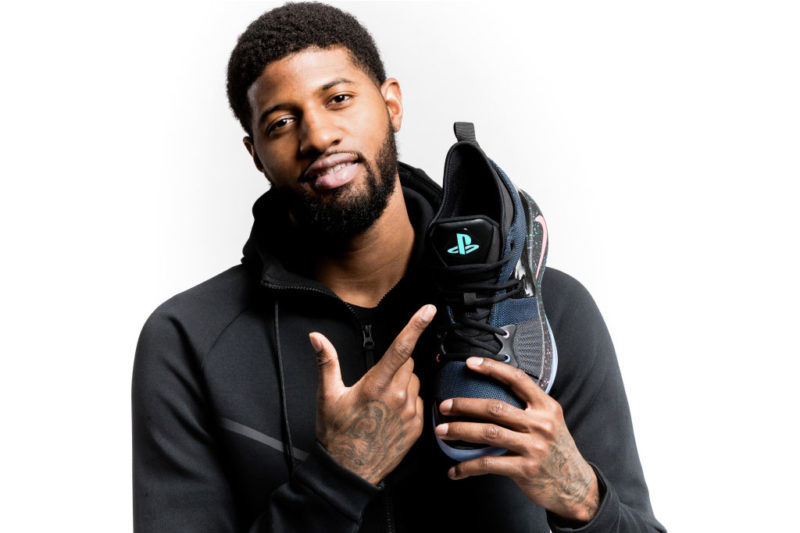 Paul George與PG-2「PlayStation」聯名球鞋