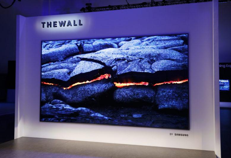 三星MicroLED電視「The Wall」