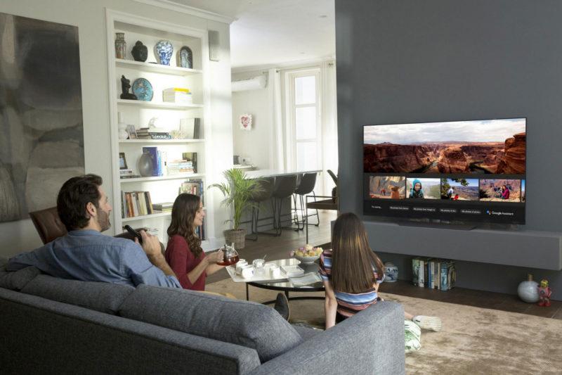 LG電視使用語音指令情境照