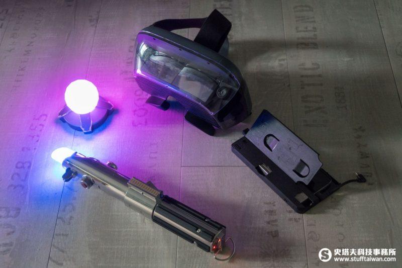 《星際大戰:絕地挑戰》主要遊戲設備