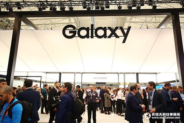 MWC 2018 Samsung Galaxy