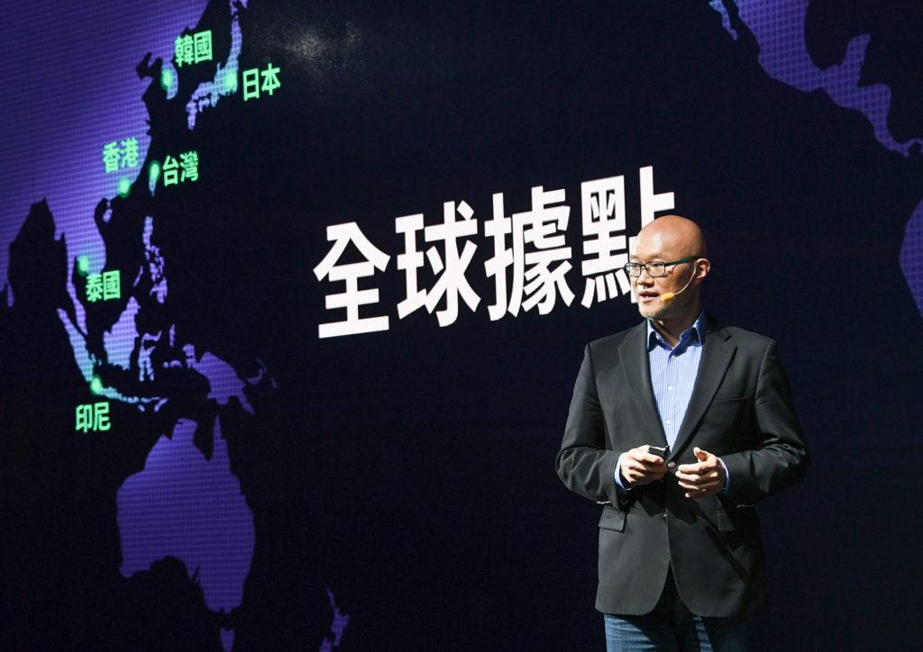 LINE台灣總經理陳立人