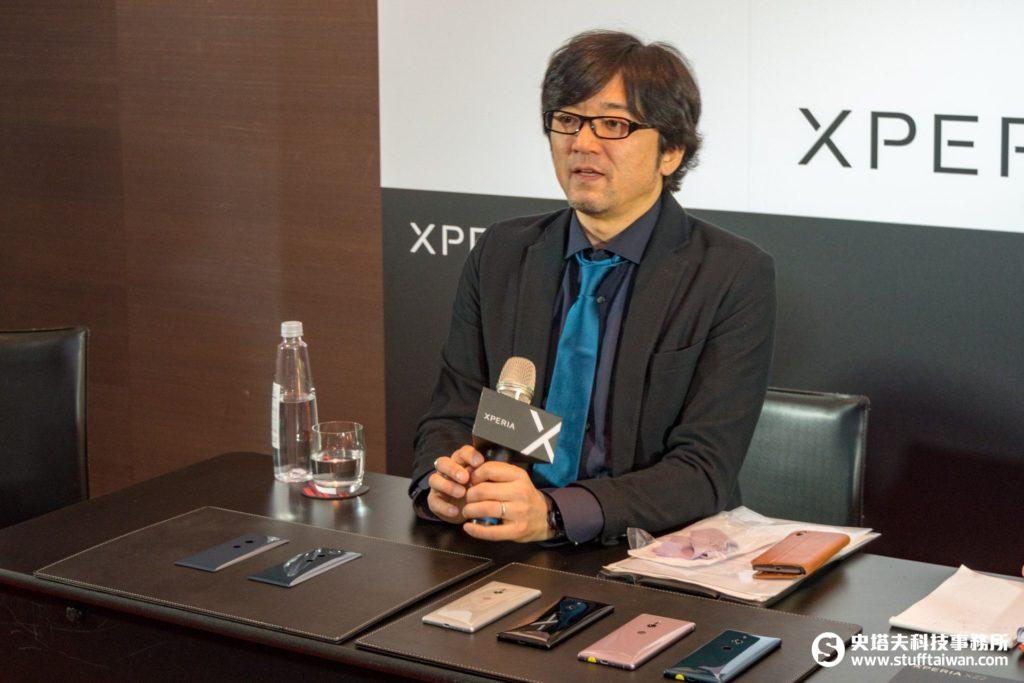 Sony Xperia XZ2設計師飯嶋義宗(IIJIMA YOSHIMUNE)