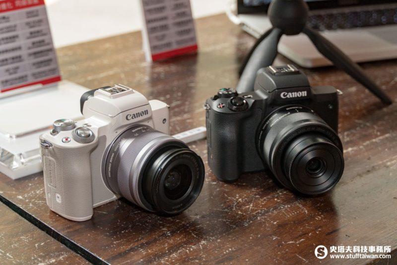 Canon EOS M50神祕黑、時尚白