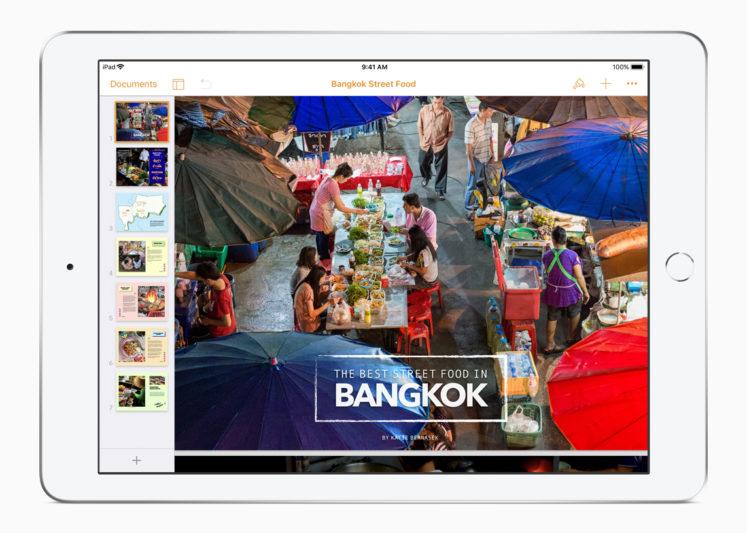 Apple這次發表會最令人期待的 iWORK軟體更新消息