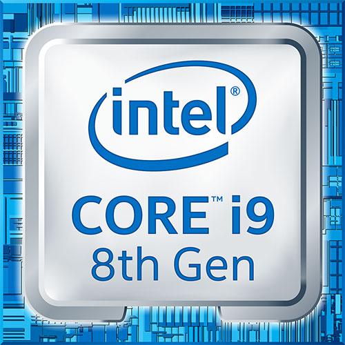 Intel筆記型電腦專用第8代Core i9處理器標誌