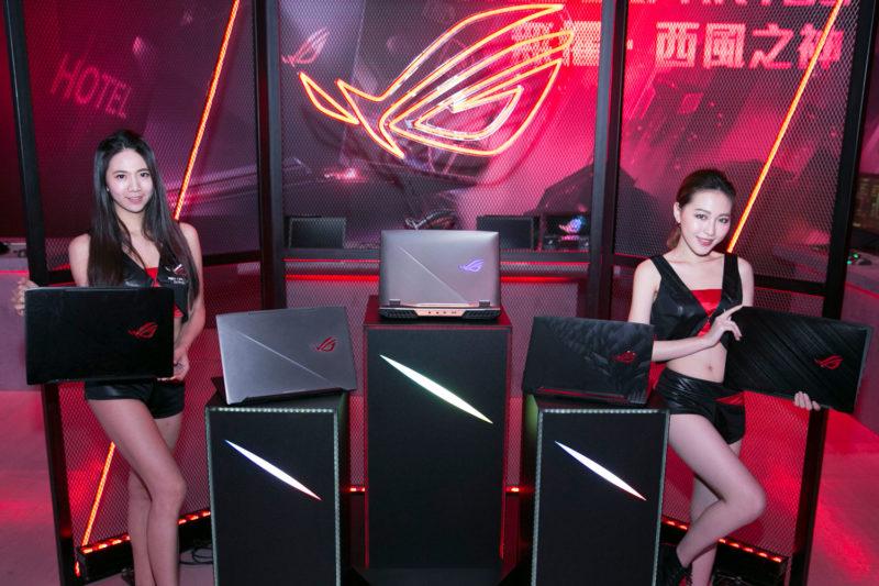華碩ROG玩家共和國第八代Intel Core處理器電競筆電