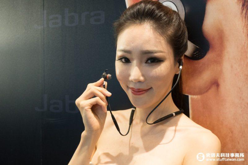 Jabra Evolve 75e無線耳機情境照