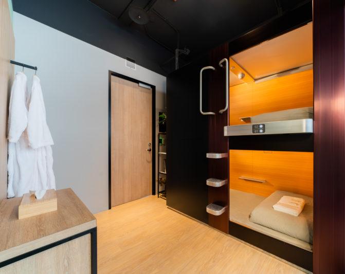 全球第一膠囊旅館品牌Kotobuki進駐台北共享空間Kafnu