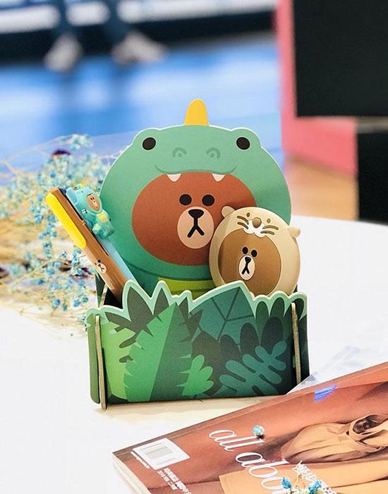 台灣限定角色便利收納盒
