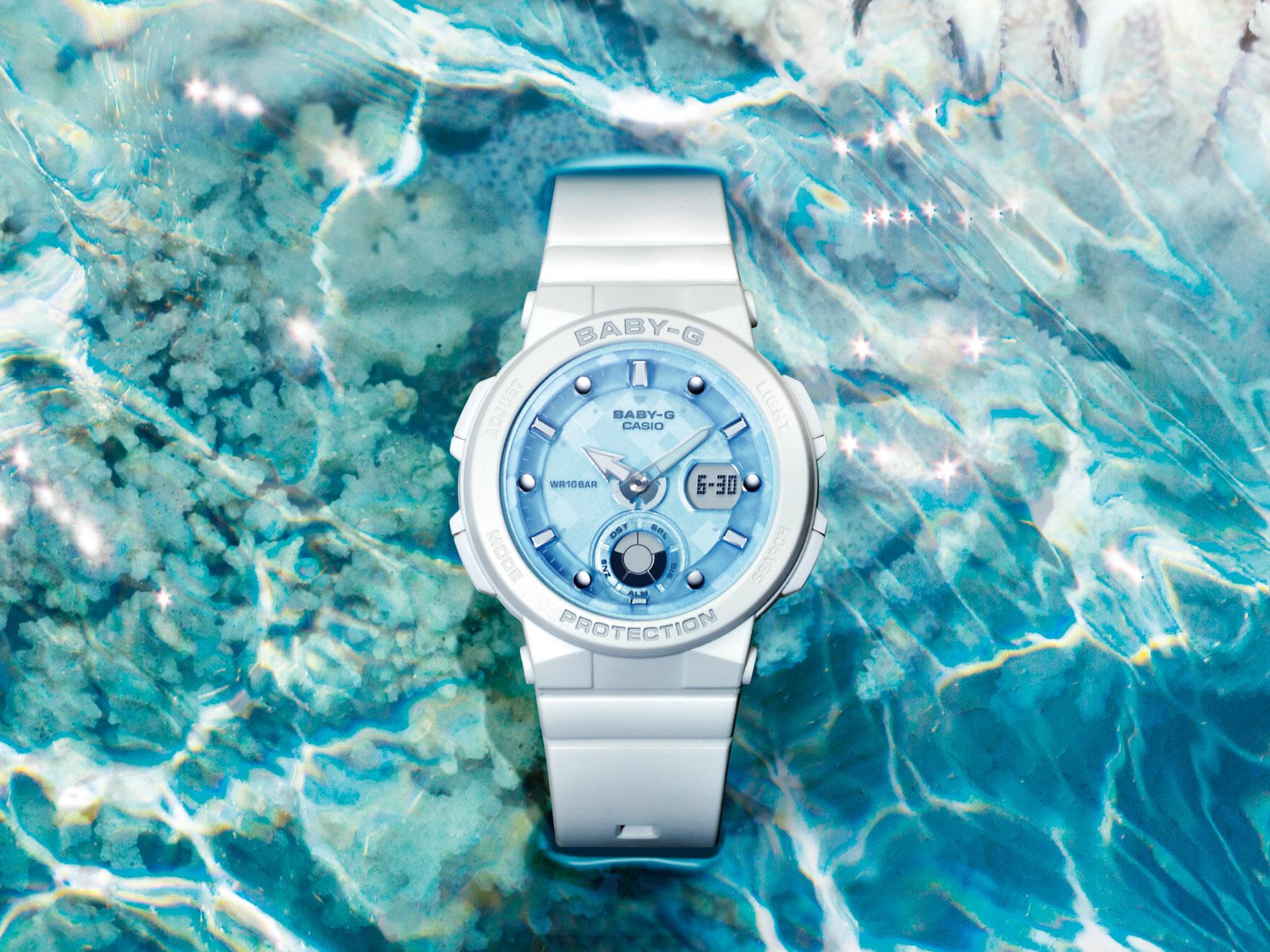 今年夏天海洋女孩必備的就是這支錶
