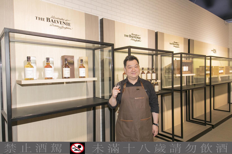THE BALVENIE百富手工感動之旅特展 台北場正式開展
