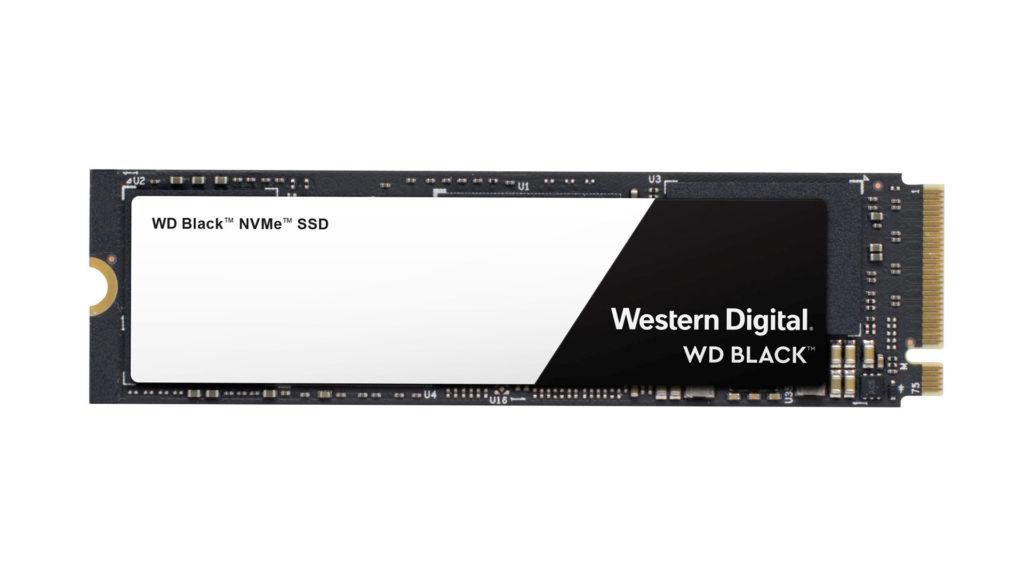 WD Black NVMe SSD固態硬碟