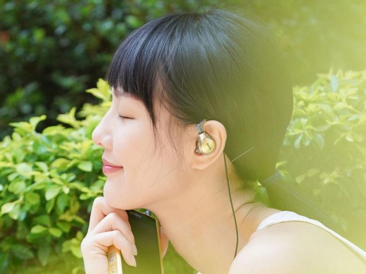 Sony Just ear客製化入耳式耳機情境照