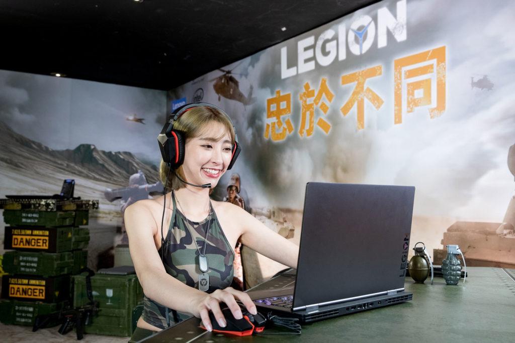 Lenovo Legion電競筆電情境圖