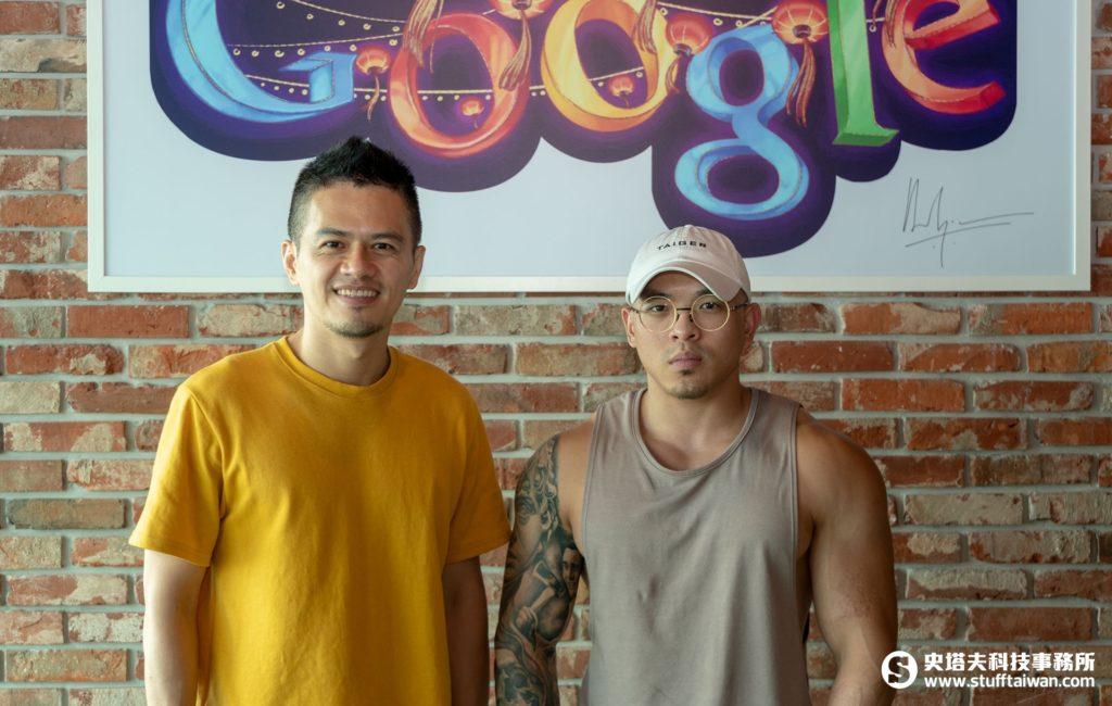 艾爾文(左)與C.Tao(右)